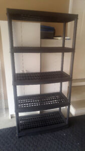i have 2     5 tier resin garage shelves -    $20 each