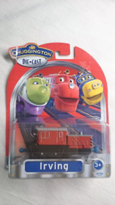 CHUGGINGTON DIE CAST IRVING TRAIN CAR