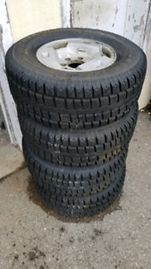 Chevy canyon/ Nissan pathfinder snow tires