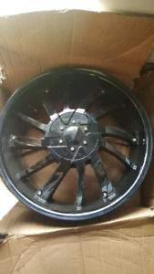 "NEW 18"" 5x114.3 BLACK alloy rims"
