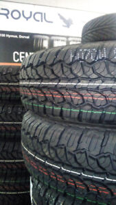 NEW TIRES LT225/75/16-499$ txin 4tires **2150 Hymus, Dorval**