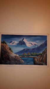 Original Nepal Oil Paintings Vancouver Greater Vancouver Area image 5