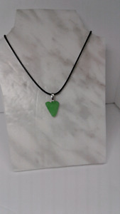 Sea Glass Necklace Ocean Tumbled