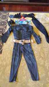 Black Batman - New costume medium (5 -7yrs)