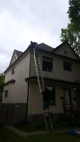 EAVESTROUGH CLEANING AND REPAIRS