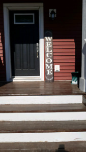 """Welcome""porch sign!"