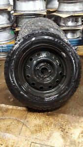 USED ALL SEASON AND WINTER TIRES