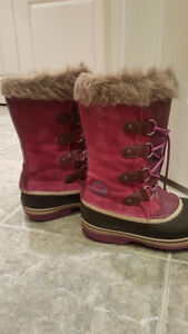 Girls Size 4 Sorel Winter Boots