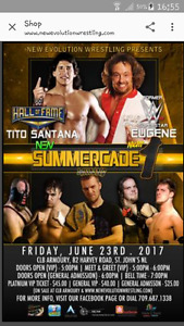Wrestling Summer Cade Tickets