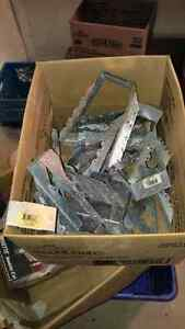 21 pcs assorted joist hangers new
