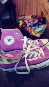 Purple Converse All Stars Sneakers for sale!