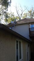 Eavestrough Cleaning & Fall Clean-up Services