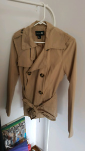 Forever 21 trench jacket size small