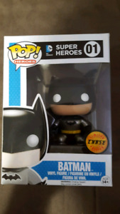 Batman Metallic Chase Funko Pop