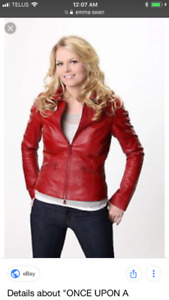 Wanted: Red jacket s/m & high boots 7.5w - Emma Swan Costume.