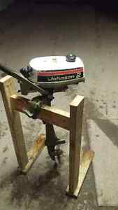 1974 johnson 2hp outboard boat motor