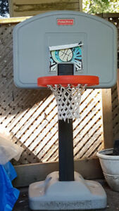 Fisher Price basketball hoop for toddlers
