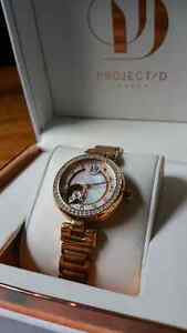 Project D London Rose Gold Watch