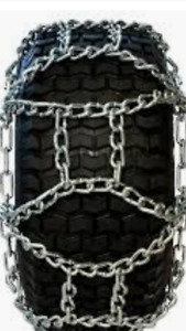 LOOK New Tire Chains For Farm Tractors, Graders, Skidsteers, Etc