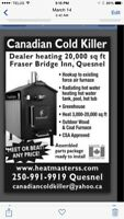 Heat Master outdoor wood & coal Furnace (9 Burns Lake)