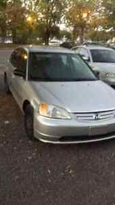 2002 Honda Civic Silver Berline