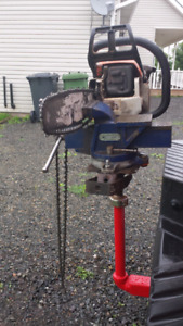 Bench vise 6 inch hitch mount