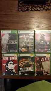 Xbox 360 games for sale $10/ $5