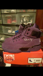 Retro Ewing 33 hi purple suede size 12