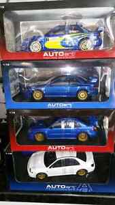 1:18 Diecast Subaru Impreza WRX STI Collection Autoart