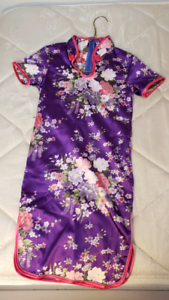 Girls Chinese traditional dress size 8