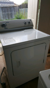 Washer dryer stove and counter top microwave