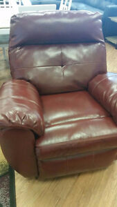Ashley Bastrop Crimson Recliner