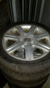 Audi OEM forged rims for Audi A4