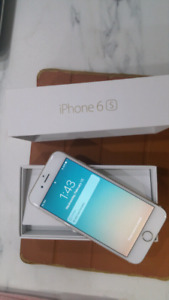 iPhone 6 Unlocked 64GB White Rose Gold Color