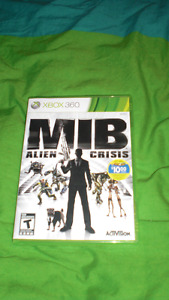 MIB Alien Crisis Xbox 360 game