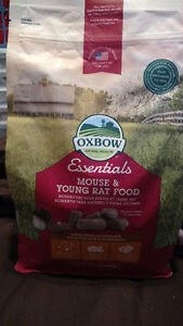 Oxbow Mouse and Young Rat food