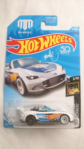 2018 HOT WHEELS '15 MAZDA MX 5 MIATA MAD MIKE DIE CAST MINT