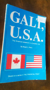 Galt, U.S.A., Robert L. Perry, 1971 Kitchener / Waterloo Kitchener Area image 1