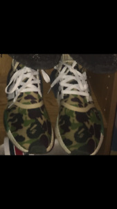 Authentic bape nmds