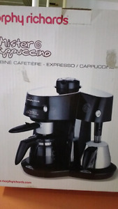 Morphy richards new multi function coffee maker.