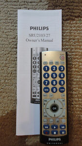 UNIVERSAL REMOTES --- SONY, TOSHIBA, RCA, and PHILIPS!!