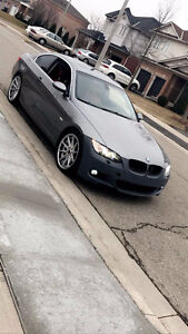 2008 BMW 335xi Coupe with RED Interior