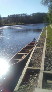 26 ft canoe with motor