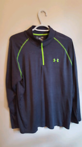Men's 1/4 zips and Golf shirts