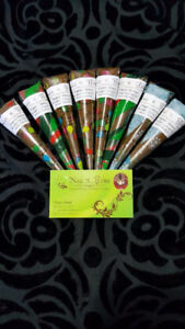 Natural Henna Cones for sale