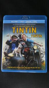 Bluray Tintin,Titanic,Resident Evil,Luck