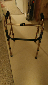 Folding walker never used