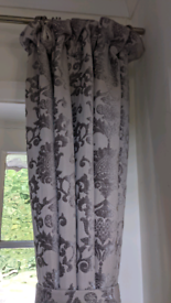 Luxury Vintage Curtains Heavy Thermal Lined Pencil Pleat 66x90 inches