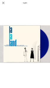 Authentic LAla Land signed blue Album by justin hurwitz
