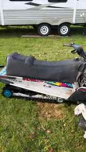 Polaris 2 up seat with gas tank connected.SEAT ONLY
